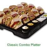 Subway platter