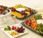 salads fruits and veggies