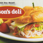 Jason deli sandwich
