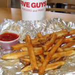 five guys ffries